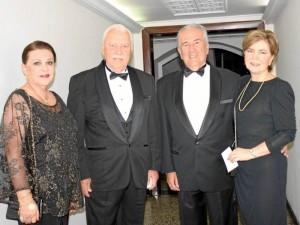 María Isabel Ordóñez, Gilberto Gómez, Alirio Gómez y Martha Elena de Gómez.