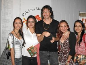 María Alejandra Plata, Silvia Suárez, Mario Serrano, Bibiana Rojas y María Cristina Plata. (Foto Nelson Díaz )