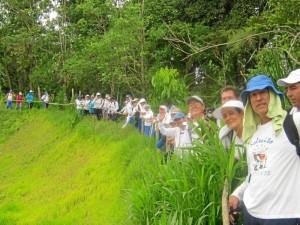 Las caminatas se realizan en zonas aledañas a Floridablanca, Bucaramanga y Piedecuesta.