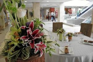 Las flores también tendrán su espacio en la Semana de la Boda.