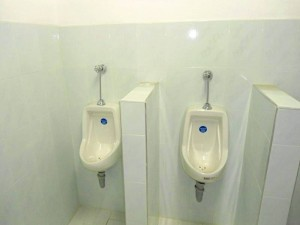 A los baños se les instaló todo lo necesario para su funcionamiento, solo les falta agua.