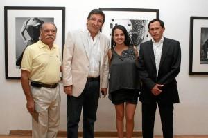 Orlando Morales, Carlos Fernando Sánchez, Nidia Coy y Fernando Medina.