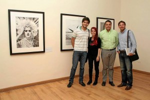 Andrés Felipe Montero, Marcela Fletcher, Hernando Ángel Madrid y Jaime Alonzo Bautista.