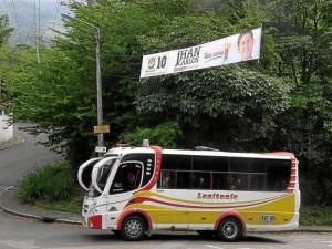 Una vez más residentes de Pan de Azúcar piden una ruta de transporte que cumpla con los recorridos diarios. Archivo / GENTE DE CABECERA