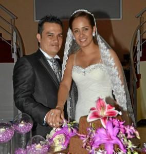 Carlos A. Cordero y Juliana Milena Cogollo.