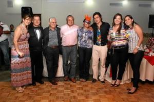 Ana María Trujillo, Boris Vesga, Jaime Calderón, Héctor Hernández, Mónica Hernández, Custodio Ruíz, Natalia Sarmiento y Laura Cardozo.