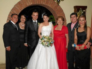 José del Carmen Pino Sánchez, Gloria Beatriz Díaz de Pino, José Leonardo Pino, Andrea Marcela Vega, Matilde Medina, Nelson Medina y Mary Luz Cárdenas.