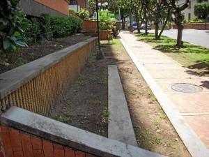 Al contrario, este espacio merece más atención y podrían sembrar gramilla y flores; corresponde a abedules, en la calle 55A con carrera 28.