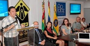 En la sede de la Alcaldía se cumplió la ceremonia de la firma del acta.