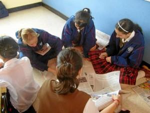El colegio Nuestra Señora del Rosario empezó su trabajo por forjar el Nuevo Ciudadano.
