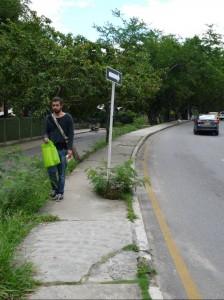 En la avenida La Rosita, frente a la Clínica Chicamocha