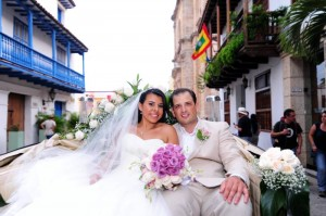 Libia María Durán Blanco y Jimmy Kalamaras.