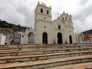 El templo del Señor del Humilladero, de Pamplona, es uno de los más visita-dos por los católicos.(Tomada de Internet)