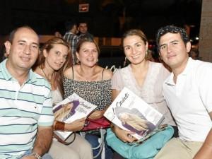 Carlos Gast, Liliana Plata, Anayibe Solano y Ángela Cabanzo.