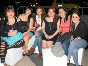 Claudia Guzmán, Jennir Ardila, Laura Meneses, Claudia Quintero, Alejandra González y Juliana Silva.
