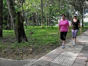 El parque La Flora abrió de nuevo sus puertas al público esta semana. ( Foto Suministrada CDMB )