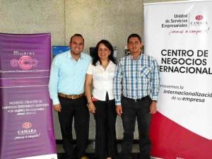 Nelson Díaz /GENTE DE CABECERA Gustavo Adolfo García, Edith Damaris González y Mauri-cio Carrero.
