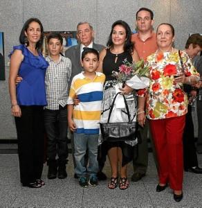 Adriana Gavassa, Andrés Padilla, Edmundo Gavassa, Daniel Padilla, Ana Milena Gavassa, Jovany Gavassa y Ema de Gavassa.