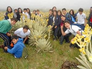 Claverianos estuvieron en El Picacho