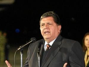 El exmandatario peruano Alan García estará de visita en Bucaramanga.
