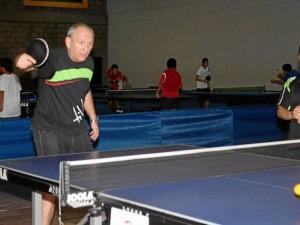 Archivo / GENTE DE CABECERA Los veteranos aficionados al tenis de mesa podrán poner en práctica sus habilidades este sábado 22 de septiembre.