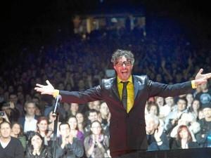 Fito Paez estará en el concierto de cierre de Abrapalabra.