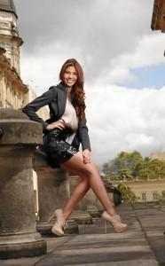 Paola cuenta con grandes atributos que pueden llevarla a ser la soberana de la belleza nacional.