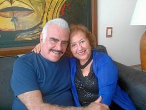Vicente Fernández y Fanny Ramirez de Arenas