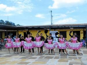 Las danzas se tomaron el fin de semana al Parque Nacional del Chicamocha.