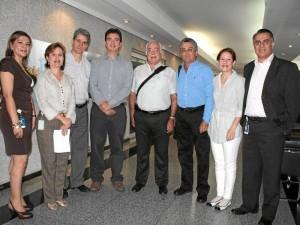Rubi Flórez, Ana Leonor Rueda, Francisco Roldán, Juan Camilo Beltrán, Jorge Cortizzos, Germán Pava Capacho, Claudia Aparicio y Édgar Álvarez.