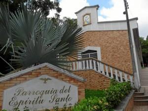 La parroquia se empezó a construir desde 1970. ( Fotos Nelson Díaz )