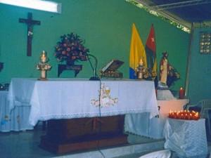 La capilla de Pan de Azúcar bajos pertenece a la parroquia del Espíritu Santo. (Suministrada Efraín Sánchez)