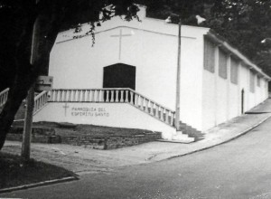 Así se veía el templo en 1980. (Archivo Vanguardia Liberal).