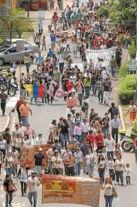 La marcha saldrá del parque San Pío a las 9 a. m.