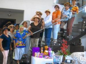 Gilma de Díaz, Doris de Álvarez, Yanet de Arenas, Carmen de Camacho, Belén González, Belcy de Gómez, Nora de Londoño, Mary de Forero, Martha de Vargas, Esmith de Flórez y Marinita de Groso.
