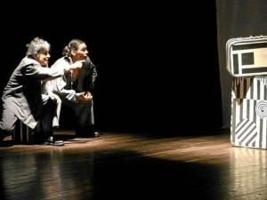 La obra 'En algún lugar', creación colectiva Beca Colcultura - Fondo Mixto de Cultura de Santander, estará en escena.