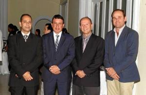 Humberto Prada, Ignacio Pérez, Sergio Marín Valencia y Juan Camilo Montoya.