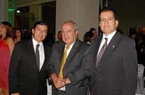 Edgar Higinio Villabona, Antonio José Díaz y Carlos Mauricio Serrano.