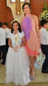 Isabella Lecompte Reyes y Mercedes Reyes. (Fotos suministradas por GENTE DE CABECERA)