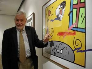 Gustavo Sorzano es un artista bumangués.