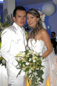 Patricia Mendoza y William Velandia (Fotos Nelson Díaz)