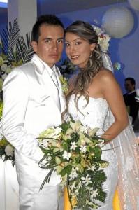 Patricia Mendoza y William Velandia (Fotos Nelson Díaz)