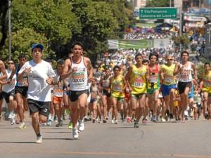 Los organizadores de la maratón recuerdan a los competidores haber tenido al menos 150 minutos semanales de actividad física.