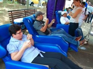 Este fin de semana salve una vida, done sangre en el parque de Los Niños, desde las 8 a. m.