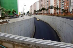 El eje vial que va de Torres de Monterrey hacia el viaducto La Flora ya fue pavimentada.