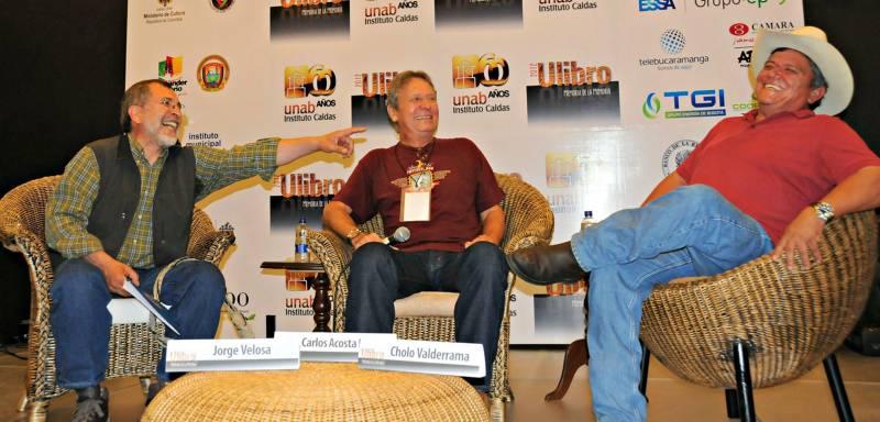 En Ulibro se llevó a cabo un conversatorio musical con Jorge Velosa y Orlando 'Cholo' Valderrama.