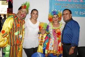 Juan Carlos Castro, Margie de Otero, Juan David Sanabria, Mary Guevara y Clímaco Otero.