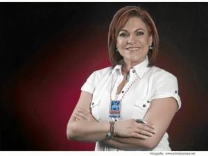 Sandra Barrera; gerente ejecutiva del Teatro Corfescu.