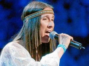 Andrea Echeverri hace parte de los artistas de Bucaramusic.