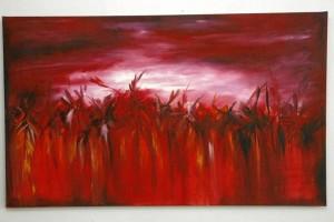 Esta es una de las obras de Yovanna Uribe.